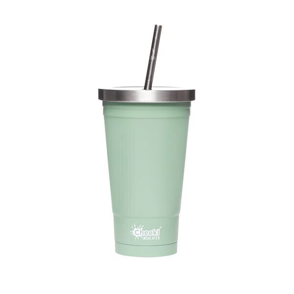 Cheeki Insulated tumbler with stainless steel straw - 500ml