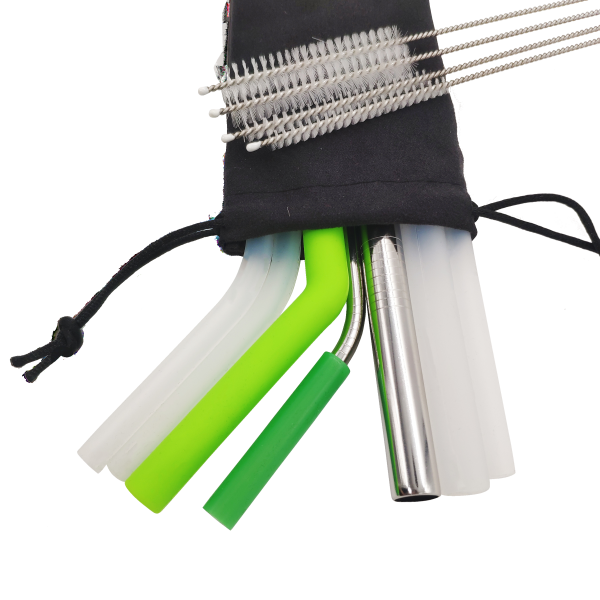 The Ultimate Reusable Straw Kit
