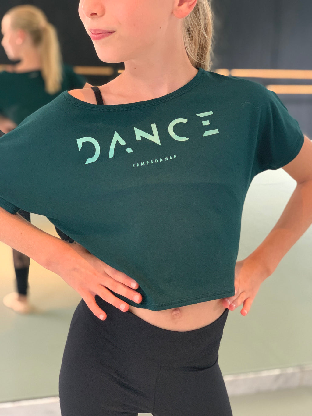 T-shirt agile jr Temps Danse