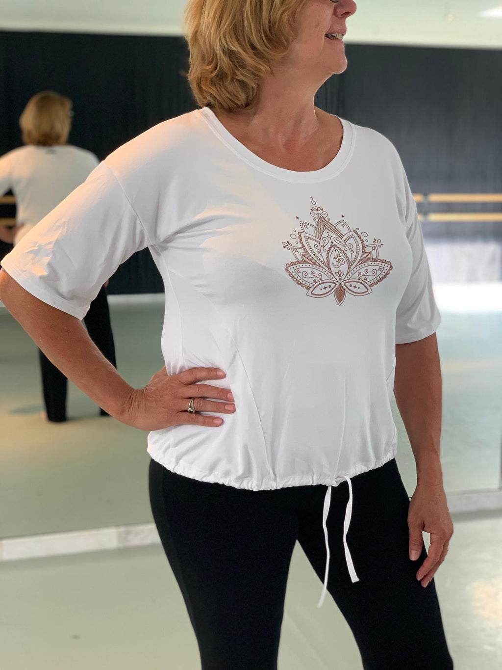 T-shirt Flower Temps Danse