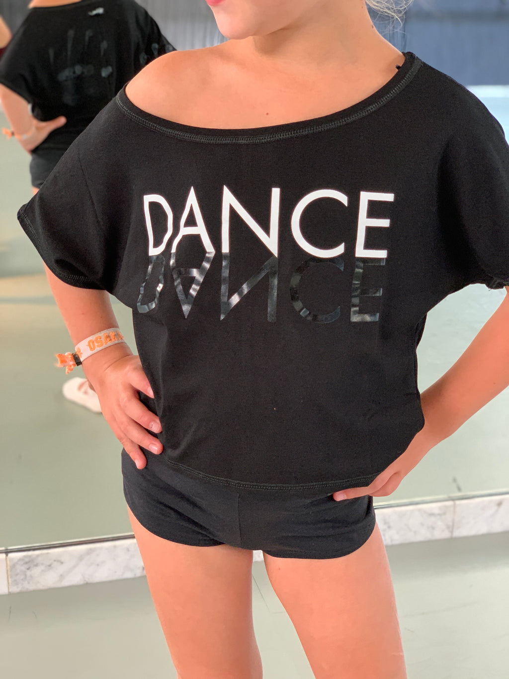 T-shirt Agile JR Mirror Temps Danse