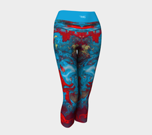 Load image into Gallery viewer, Yoga Capris Marble - HIG Activewear - Yoga Capris