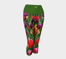 Load image into Gallery viewer, Yoga Capris Tulips - HIG Activewear - Yoga Capris