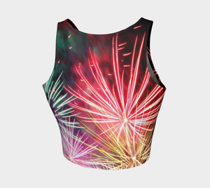 Crop Top Sparks - HIG Activewear - Athletic Crop Top