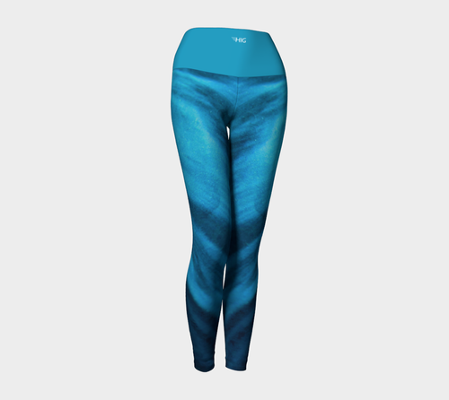 Yoga Leggings Satin - HIG Activewear - Yoga Leggings