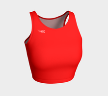 Load image into Gallery viewer, Crop Top Rouge - HIG Activewear - Athletic Crop Top