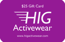 Load image into Gallery viewer, HIG Activewear Gift Card - HIG Activewear -