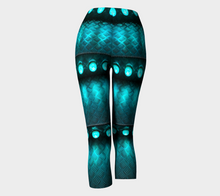 Load image into Gallery viewer, Capris Teal - HIG Activewear - Capris