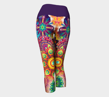 Load image into Gallery viewer, Yoga Capris Kaleidos - HIG Activewear - Yoga Capris