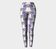 Load image into Gallery viewer, Leggings Halloween ghost & bat pattern - HIG Activewear - Leggings