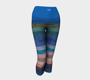 Yoga Capris  Stripes - HIG Activewear - Yoga Capris