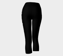 Load image into Gallery viewer, Capris Noir - HIG Activewear - Capris