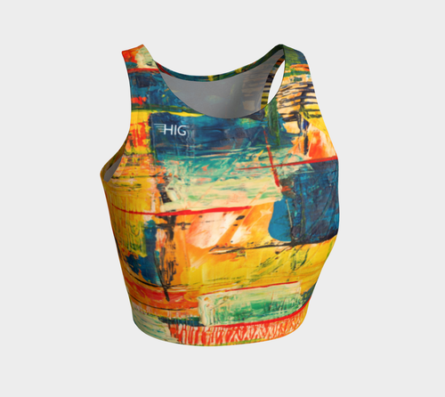 Crop Top Vivid - HIG Activewear - Athletic Crop Top