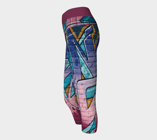 Yoga Capris Spray - HIG Activewear - Yoga Capris
