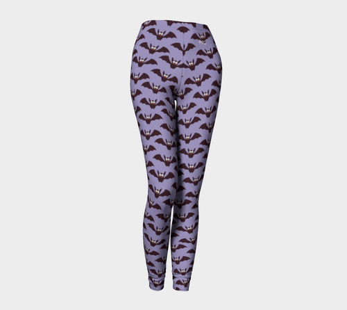 Leggings Halloween bat pattern - HIG Activewear - Leggings