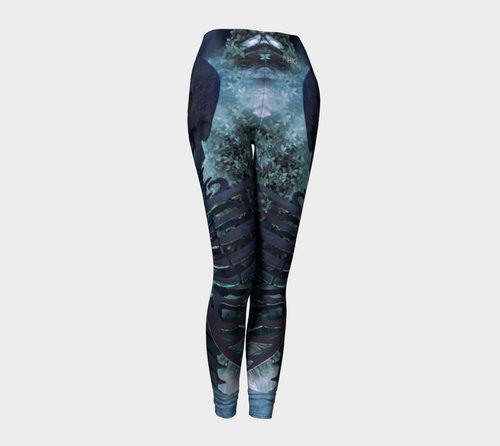leggings Halloween skeleton - HIG Activewear - Leggings