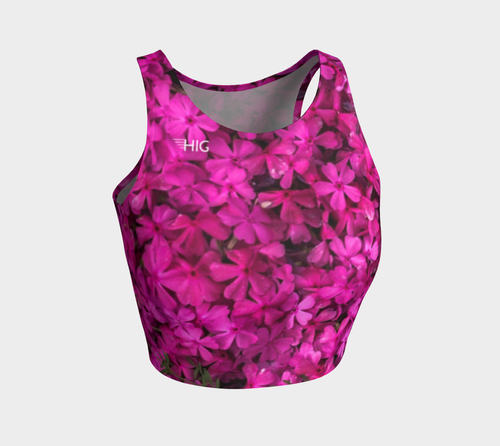 Crop Top Blossom - HIG Activewear - Athletic Crop Top
