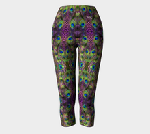 Load image into Gallery viewer, Capris Peacock - HIG Activewear - Capris