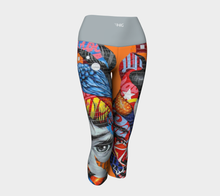 Load image into Gallery viewer, Yoga Capris Portrait - HIG Activewear - Yoga Capris