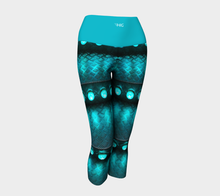 Load image into Gallery viewer, Yoga Capris Teal - HIG Activewear - Yoga Capris