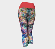 Load image into Gallery viewer, Yoga Capris Aquarelle - HIG Activewear - Yoga Capris