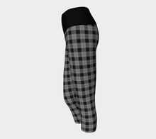 Load image into Gallery viewer, Yoga Capris Gingham - HIG Activewear - Yoga Capris