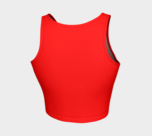 Crop Top Rouge - HIG Activewear - Athletic Crop Top