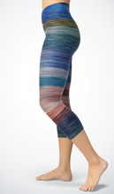 Load image into Gallery viewer, Capris Stripes - HIG Activewear - Capris