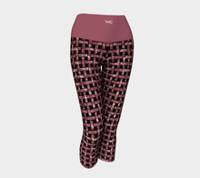 Load image into Gallery viewer, Yoga Capris Weave - HIG Activewear - Yoga Capris