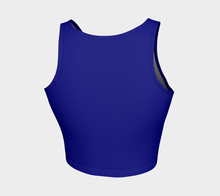 Load image into Gallery viewer, Crop Top Bleu - HIG Activewear - Athletic Crop Top