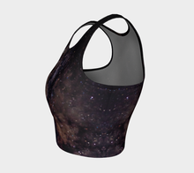 Load image into Gallery viewer, Crop Top Space - HIG Activewear - Athletic Crop Top