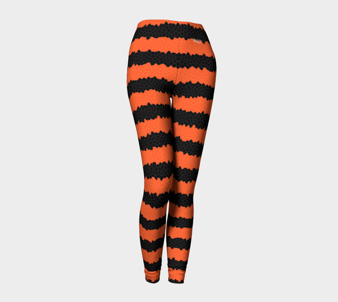 Halloween stripes leggings - HIG Activewear - Leggings