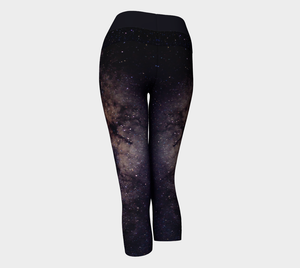 Yoga Capris Space - HIG Activewear - Yoga Capris