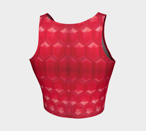 Crop Top Ruby - HIG Activewear - Athletic Crop Top