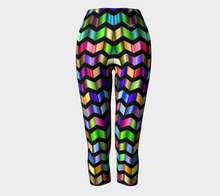 Load image into Gallery viewer, Capris Chevron - HIG Activewear - Capris