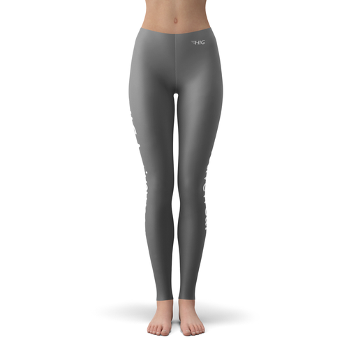 Leggings Grise - HIG Activewear - Leggings