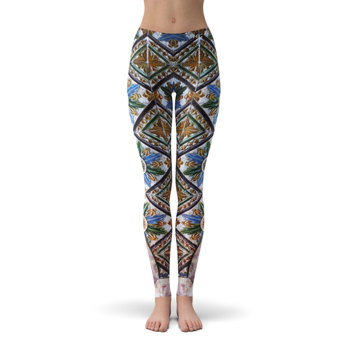 Leggings Mosaique - HIG Activewear - Leggings