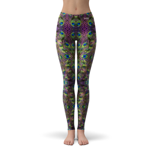 Leggings Peacock - HIG Activewear - Leggings