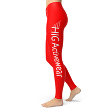 Load image into Gallery viewer, Leggings Rouge - HIG Activewear - Leggings