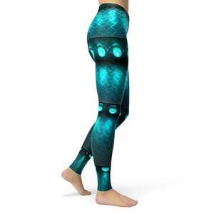 Leggings Teal - HIG Activewear - Leggings