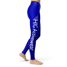 Load image into Gallery viewer, Yoga Leggings Bleu - HIG Activewear - Yoga Leggings