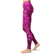 Load image into Gallery viewer, Yoga Leggings Blossom - HIG Activewear - Yoga Leggings