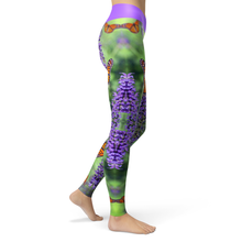 Load image into Gallery viewer, Yoga Leggings Butterfly - HIG Activewear - Yoga Leggings