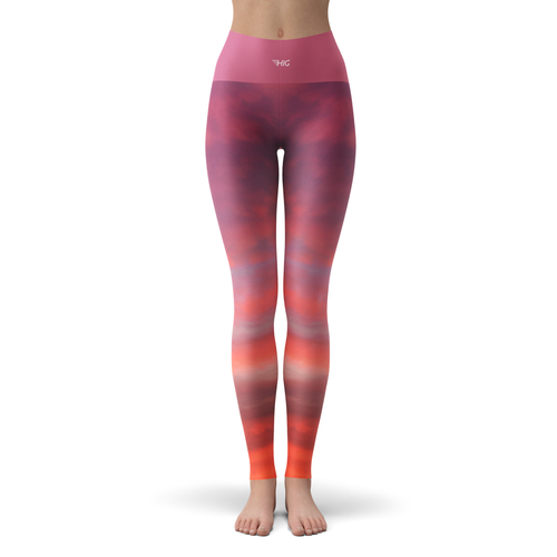 Yoga Leggings Celestial - HIG Activewear - Yoga Leggings
