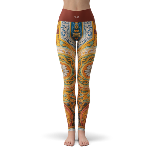 Yoga Leggings Ceramic - HIG Activewear - Yoga Leggings
