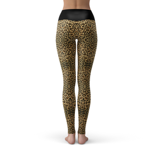 Yoga Leggings Cheetah - HIG Activewear - Yoga Leggings