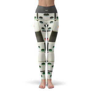 Yoga Leggings Domino - HIG Activewear - Yoga Leggings