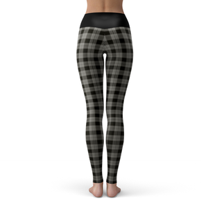 Yoga Leggings Gingham - HIG Activewear - Yoga Leggings