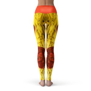 Yoga Leggings Jaune - HIG Activewear - Yoga Leggings