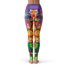 Load image into Gallery viewer, Yoga Leggings Kaleidos - HIG Activewear - Yoga Leggings